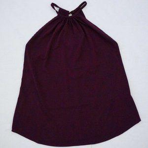 Dressy Purple Tank Top